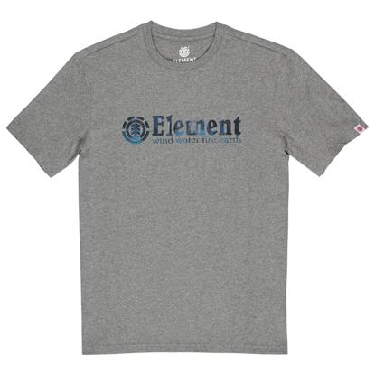 ELEMENT BORO S/S GREY HEATHER L