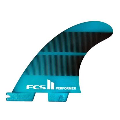 FCS FCS II PERFORMER NEO GLASS TEAL LG