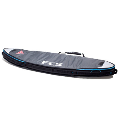 """FCS DOUBLE TRAVEL COVER SHORT BOARD 6'3"""" GRY 6,3"""