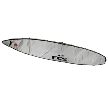 """SUP TORBA FCS SUP RACING COVER 12'6"""" SLV"""