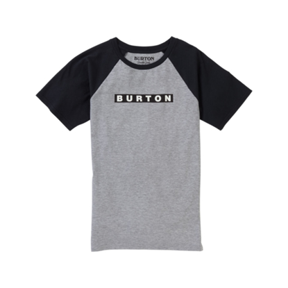 MAJICA B KID VAULT S/S GRAY HEATHER L