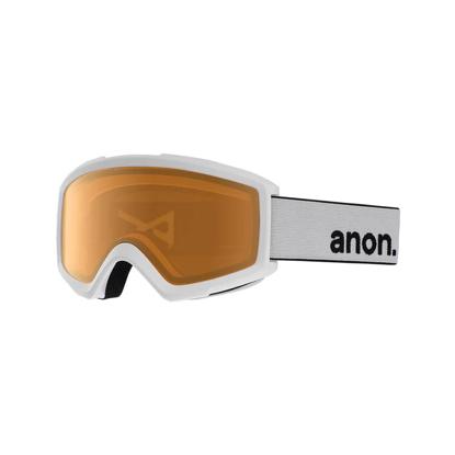 ANON HELIX 2.0 NON MIR WHT/AMBER UNI