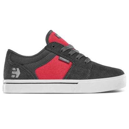 SP COP ETN KID BARGE LS DARK GREY/RED 4K