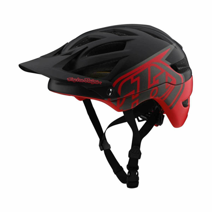 TROY LEE DESIGNS A1 MIPS CLASSIC BLK/RED XL/XXL