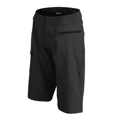 TLD HLACE W RUCKUS SHORT SHELL BLK S