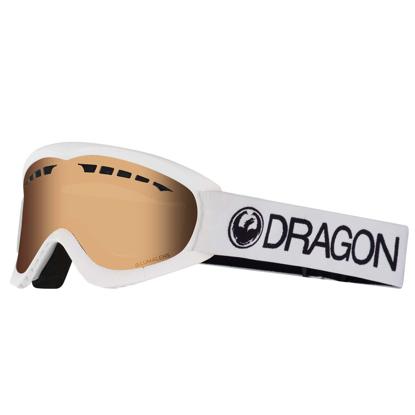 DRAGON DXS WHITE/LL AMBER