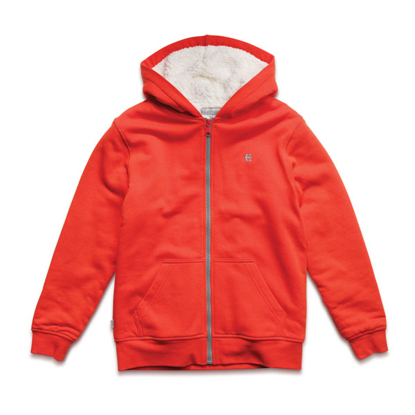 PULOVER S ETN KID CLASSIC SHERPA ZH ORNG L