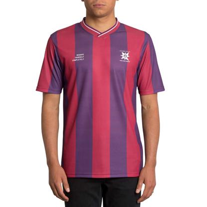VOLCOM A.P.#2 SOCCER T-Shirt RUR L