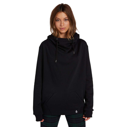 PULOVER VOL W WALK ON BY HIGH NECK BLK S