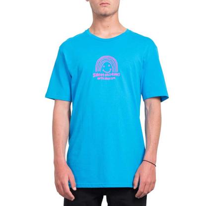 VOLCOM OZZY RAINBOW BSC T-Shirt CYB S