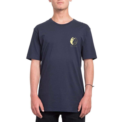 VOLCOM PEACE OFF BSC T-Shirt NVY S