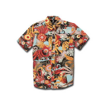 SRAJCA VOL KID PSYCH FLORAL S/S ARM M