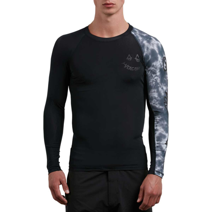 VOLCOM CHILL OUT L/S BLK M