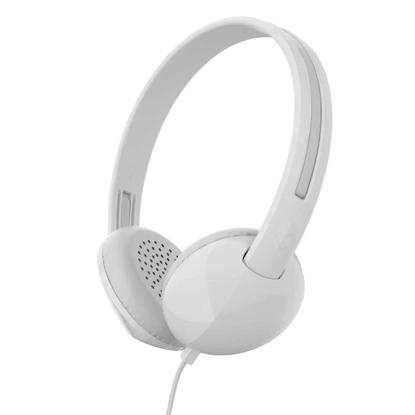 SLUSALKE SCDY STIM ON-EAR W/TAP TECH WHT/GRY/WHT