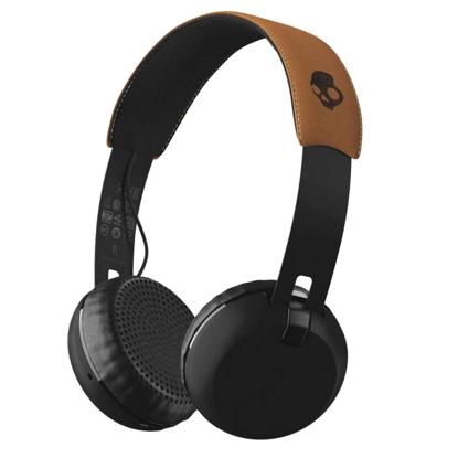 SLUSALKE SCDY GRIND WIRELESS ON-EAR BLK/BLK/TAN