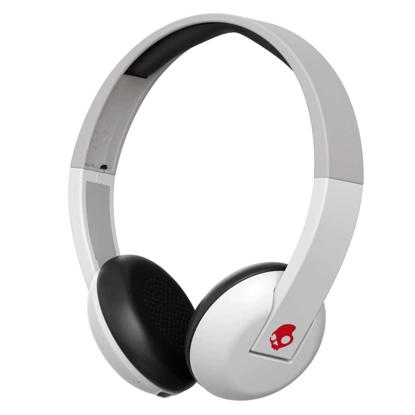 SLUSALKE SCDY UPROAR ON-EAR WIRELESS WHT/GRY/RED