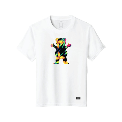 MAJICA GRIZZLY KID MAUI OG BEAR CUBUS S/S WHT S