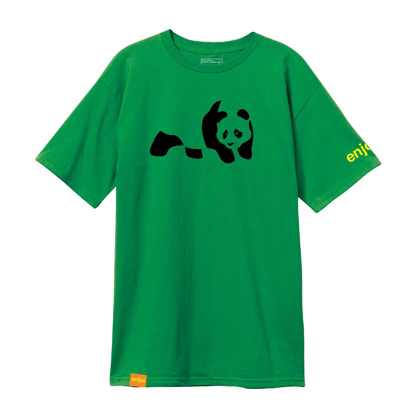 ENJOI PANDA PREMIUM S/S KELLY GREEN/YELLOW S