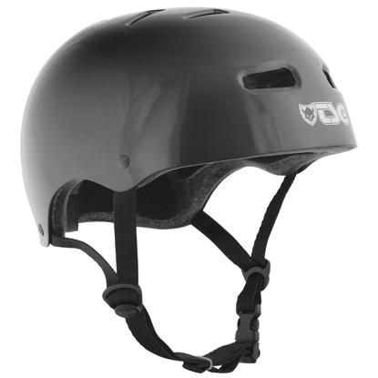 TSG SKATE/BMX IC INJ BLK L/XL