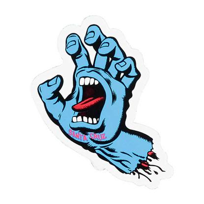 NALEPKA SC SCREAMING HAND