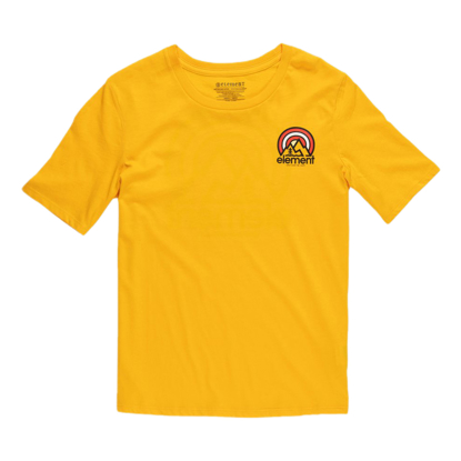 ELEMENT BRANDED CR S/S W GOLD M