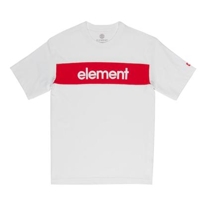 ELEMENT PRIMO FLAG S/S OFF WHT L