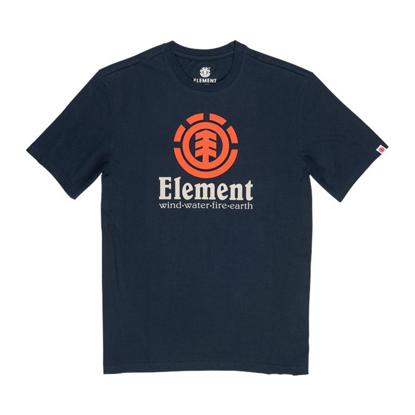 ELEMENT VERTICAL T-SHIRT ECLIPSE NAVY S