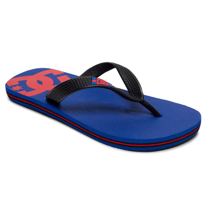 SANDALI DC KID SPRAY BLUE/RED/BLK 1K