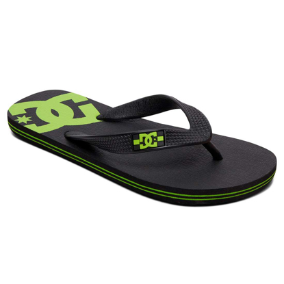 SANDALI DC KID SPRAY BLK/LIME GREEN 1K