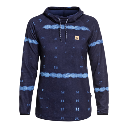 PULOVE DC W SALEM HO DARK BLUE MUD CLOTH B S