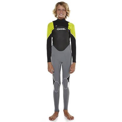 SURF OBLEKA XCEL KID AXIS X1 XZIP FULL 3/2 YELL 8