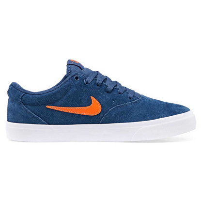 NIKE SB CHARGE SUEDE MISTIC NAVY/STAR FISH 9