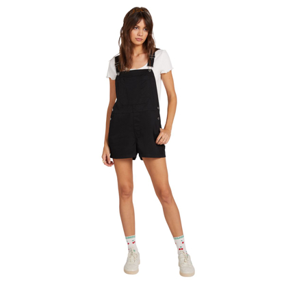 HLACE VOL W FROCHICKIE OVERALL BLK XS