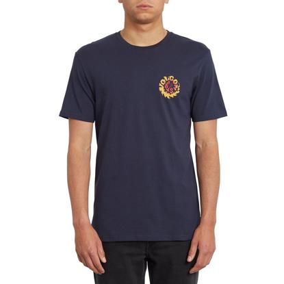 VOLCOM THROTTLE T-Shirt NVY S
