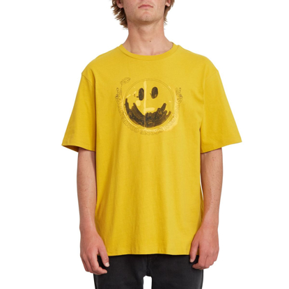 VOLCOM FAKE SMILE BXY T-Shirt GLD XS