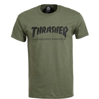 THRASHER MAGAZINE SKATE MAG S/S ARMY XL