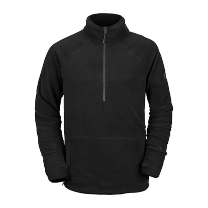 PULOVER VOL POLARTEC 1/2 ZH BLK S