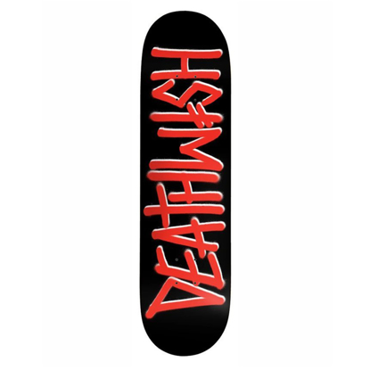 SKATEBOARD DW DEATHSPRAY RED 8.25