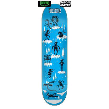 SKATEBOARD CRE FREE FOR ALL MD POWERPLY 8.5 X 32.25
