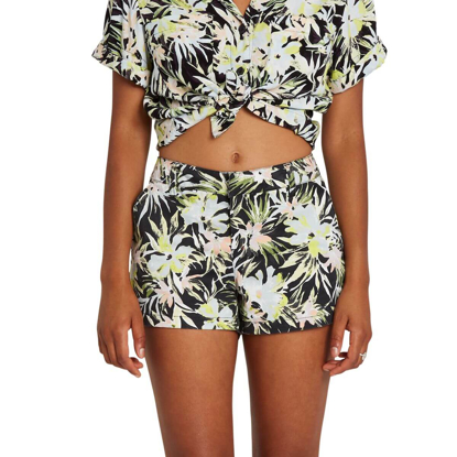 VOLCOM FROCHICKIE SHORT W LIME 27