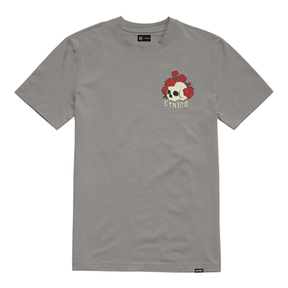 ETNIES ROSE ROLL T-SHIRT CHARCOAL S