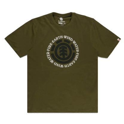ELEMENT SEAL T-SHIRT ARMY XXL