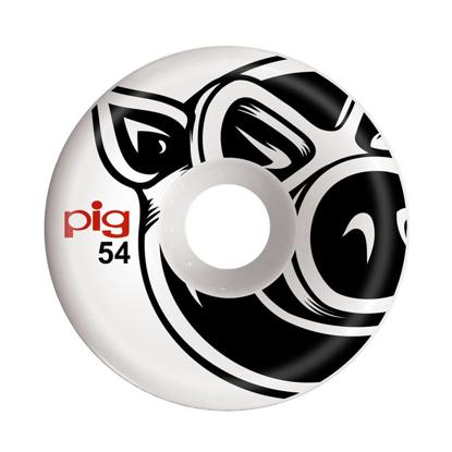PIG WHEELS PIG HEAD C-LINE 54 NATURAL 54MM
