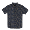 RVCA DMOTE REFLECTIONS SHIRT MOODY BLUE S