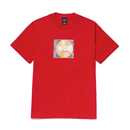 HUF MIX BOX LOGO S/S T-SHIRT RED M