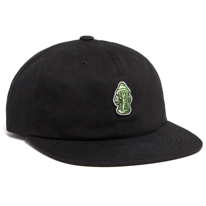 HUF HYDRANT UNSTRUCTED 6 PANEL BLACK OS