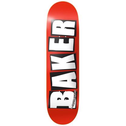 BAKER BRAND LOGO WHITE DECK 8.25 WHITE 8.25