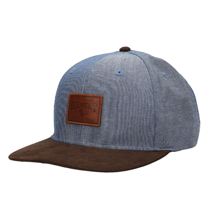ELEMENT COLLECTIVE A BLUE CHAMBRAY UNI