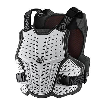 TROY LEE DESIGNS ROCKFIGHT CE CHEST PROTECTOR WHITE M/L