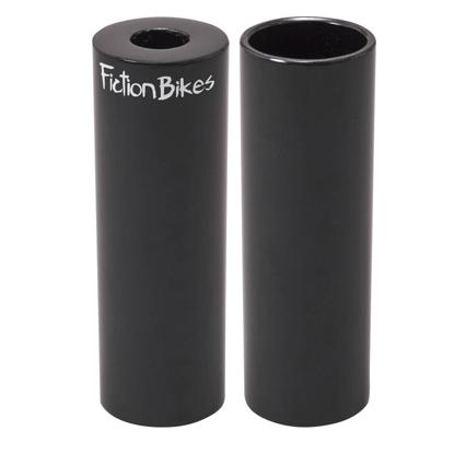 FICTION BMX STEEL FREESTYLE PEG BLK